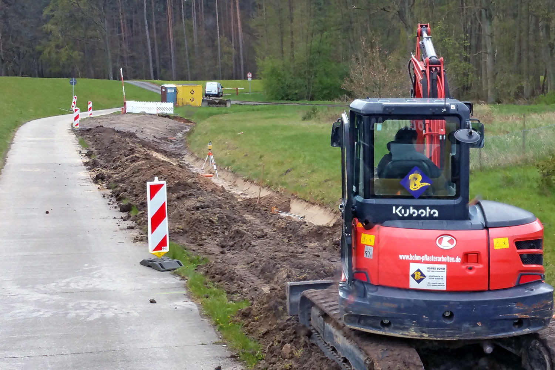 Kanalbau Oliver Bohm in Bleckede