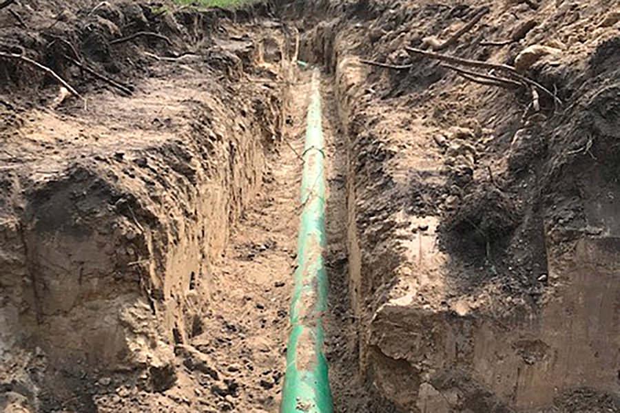 Schmutzwasserkanal DN 150